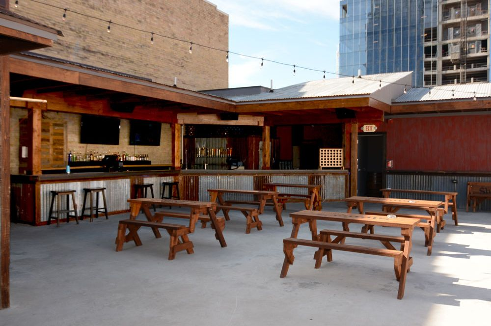 Rooftop Patio at Shiner's Saloon
